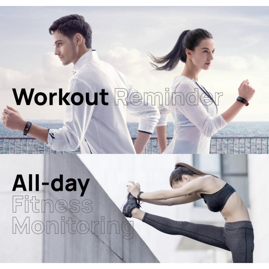 HUAWEI TalkBand B6 日本語 表示  ヘッドセット & スマートウォッチ / 血中酸素 / ブラック|yourmiraimall|10