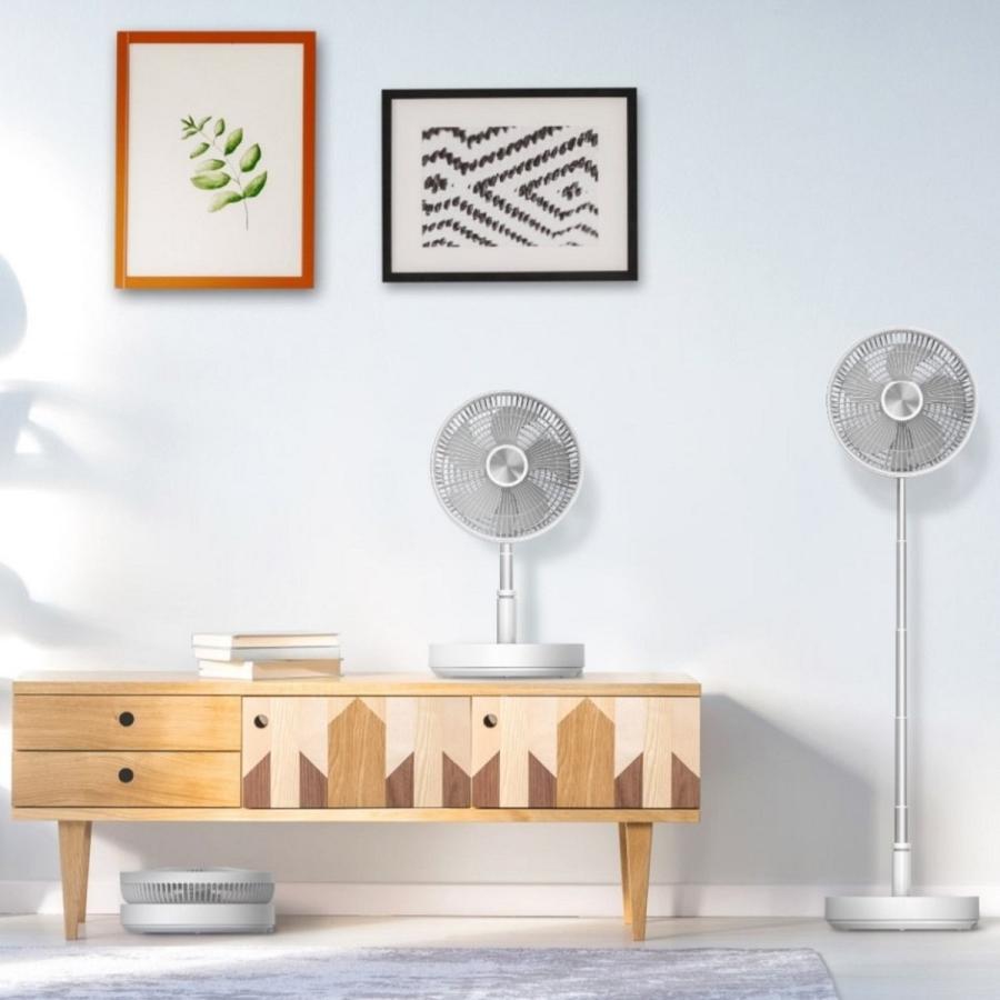 MOMAX 扇風機 サーキュレーター タワーファン DCモーター 静音 リビング / 軽量 ポータブル 充電  省エネ / ヘルスケア / IF9|yourmiraimall|02