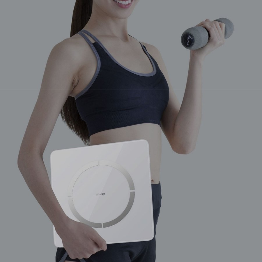 HUAWEI HONOR Scale 2 Bluetooth 多機能 ヘルスメーター 体重計 / スポーツ & ヘルスケア / ホワイト yourmiraimall 04