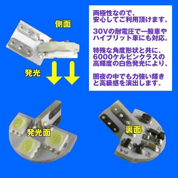 LEDライセンスランプ Kei HN22S (H13/11〜H21/10) DYPオリジナル ナンバー灯|yourparts|03