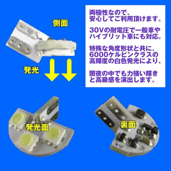 LEDライセンスランプ MRワゴン MF22S (H18/1〜H23/1) DYPオリジナル ナンバー灯|yourparts|03