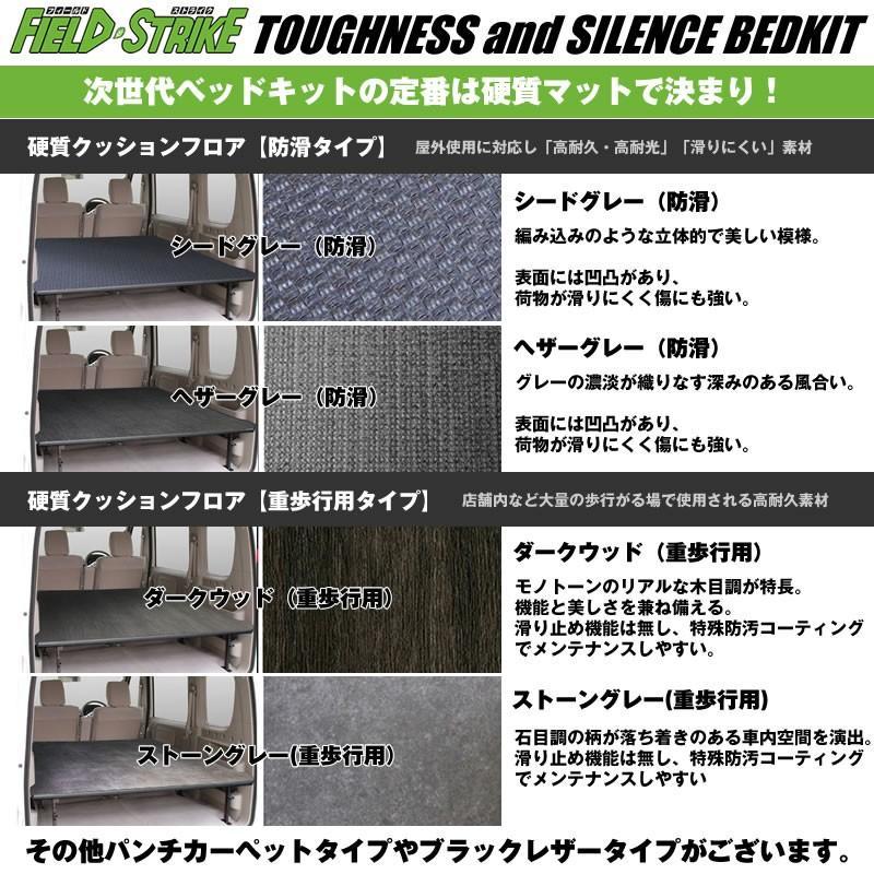 【硬質マットタイプ/重歩行用ストーングレー】Field Strike ロングサイズ ベッドキット ハイゼットカーゴ S321/331 (H16/12-)長さ1700mm!|yourparts|03