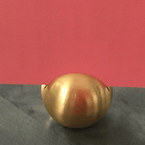 カード立て カードスタンド ゴールドのボール 金属製 丸型8個セット|yourstylewedding|03