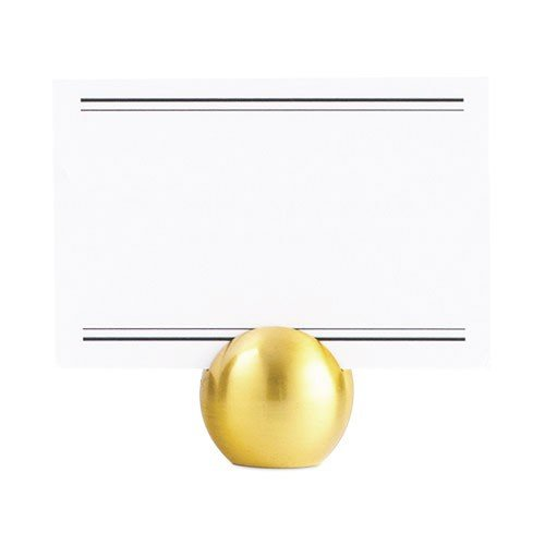 カード立て カードスタンド ゴールドのボール 金属製 丸型8個セット|yourstylewedding|05