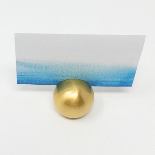 カード立て カードスタンド ゴールドのボール 金属製 丸型8個セット|yourstylewedding|06