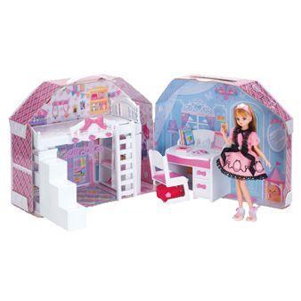 リカちゃんハウス すてきなリカちゃんのおへやりかちゃん 送料0円 リカちゃん人形 ハウス 注目ブランド
