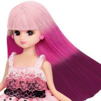 リカ ちゃん 人形 髪の毛