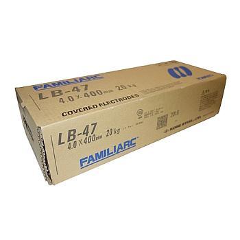 溶接棒 神戸製鋼 KOBELCO 低水素系溶接棒 LB-47 4.0mm*400mm 20kg