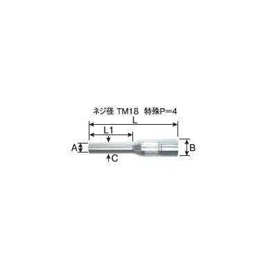細径ノズル パナソニック Panasonic CO2溶接用ノズル TGN01001 5個入り