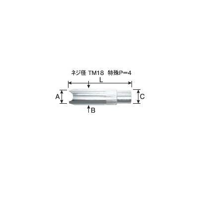 アークスポットノズル パナソニック Panasonic CO2溶接用ノズル TGN02001 5個入り
