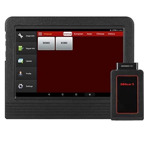 Launch X431 V+自動車診断機 フルシステム 日本語可能 OBD2スキャナ Android WiFiタブレットスキャンツール DB