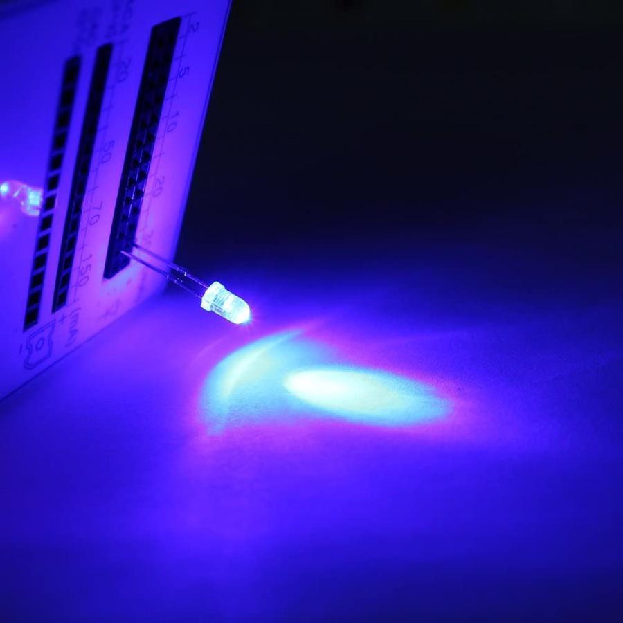 DiCUNO 発光ダイオード 3mm 10色 透明LEDセット 赤/青/白/橙/黄/緑/ピンク/紫/電球色/鶸色 各20個 透明 200個入 yoyogiha 07