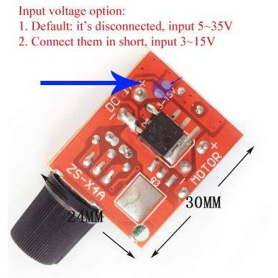 HiLetgo? 5Aミニ DC モータ PWM 速度コント ローラー 3V-35V スピード コントロール スイッチ LED 調光器 並行|yoyogiha|04