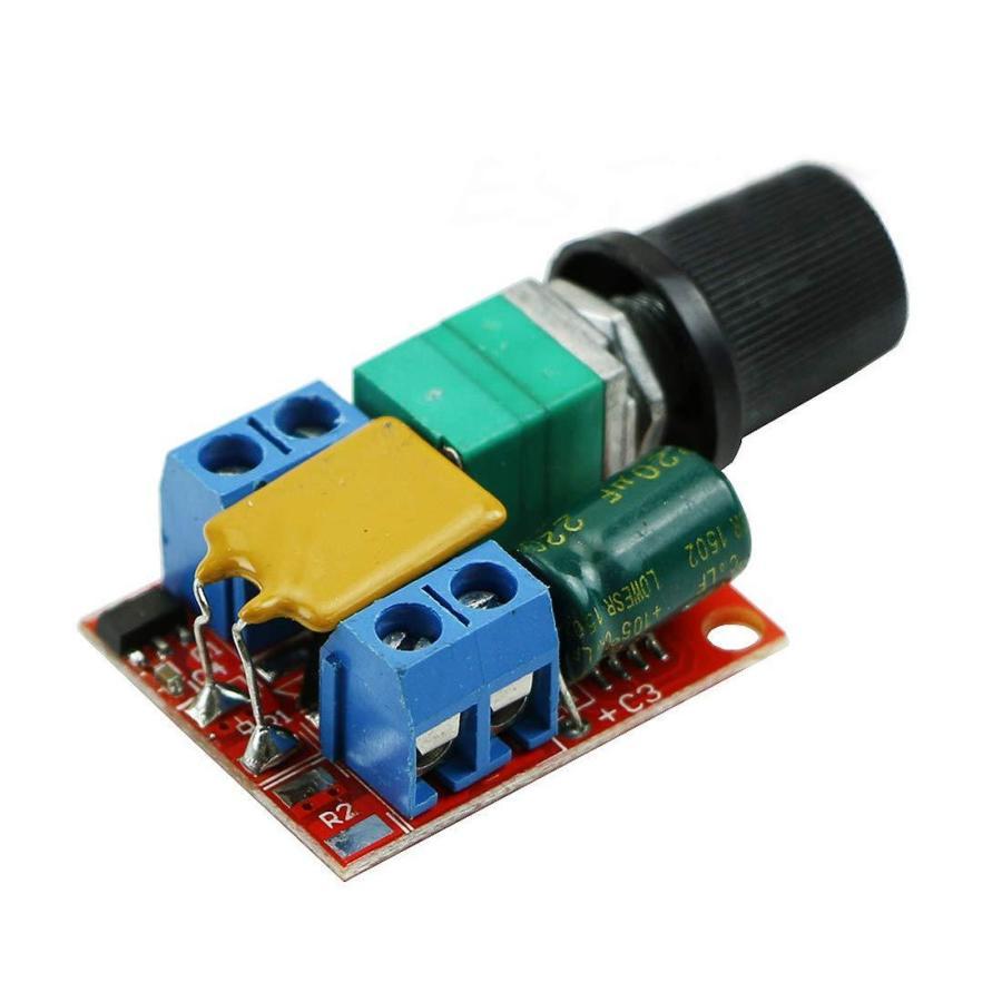 HiLetgo? 5Aミニ DC モータ PWM 速度コント ローラー 3V-35V スピード コントロール スイッチ LED 調光器 並行|yoyogiha|05