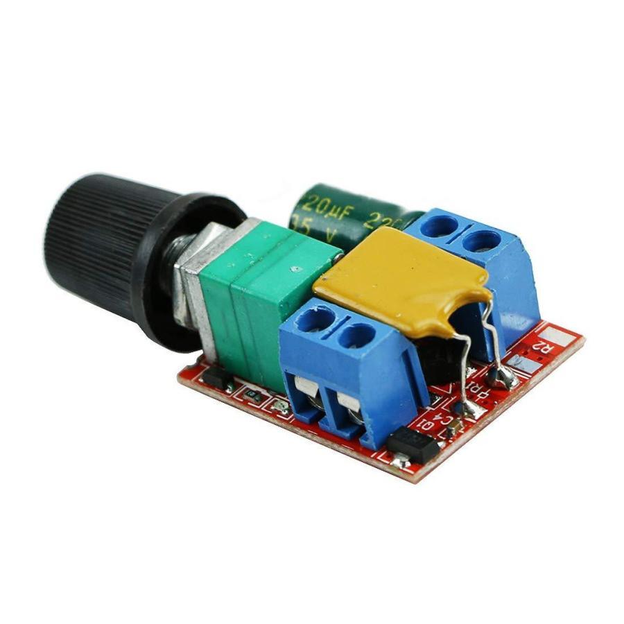HiLetgo? 5Aミニ DC モータ PWM 速度コント ローラー 3V-35V スピード コントロール スイッチ LED 調光器 並行|yoyogiha|06