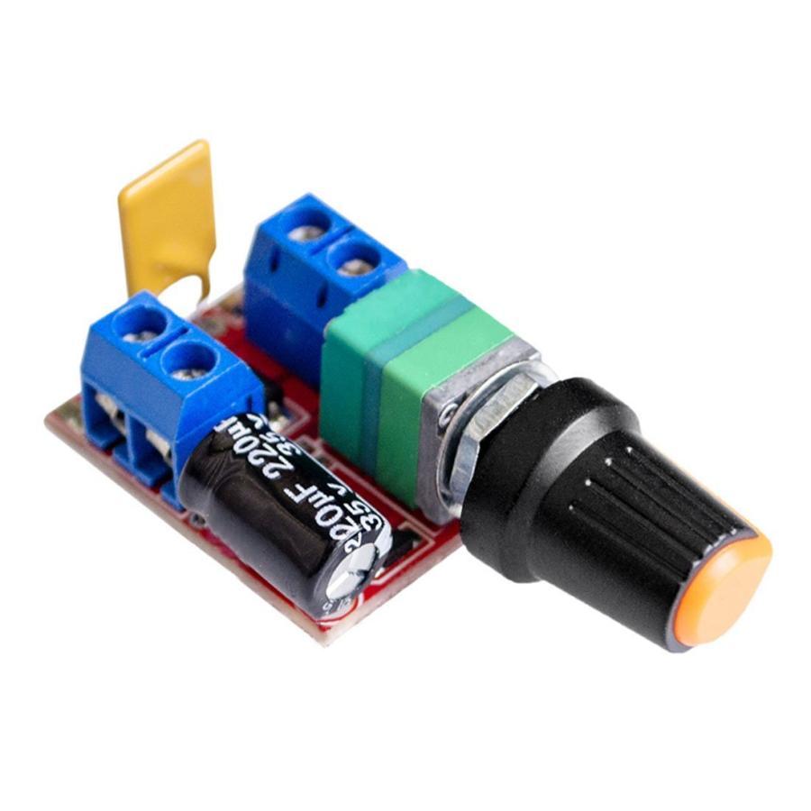 HiLetgo? 5Aミニ DC モータ PWM 速度コント ローラー 3V-35V スピード コントロール スイッチ LED 調光器 並行|yoyogiha|07