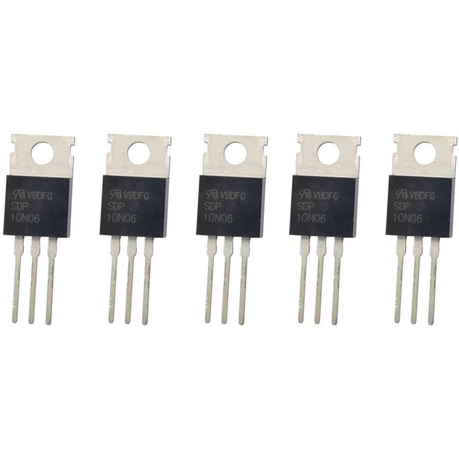 5PCS SDP10N06 TO-220 10A 60V N-Channel Power MOSFET Transistor Marking yoyogiha 02