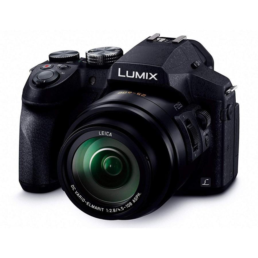 Panasonic パナソニック デジタルカメラ ルミックス FZ300 光学24倍 ブラック DMC-FZ300-K