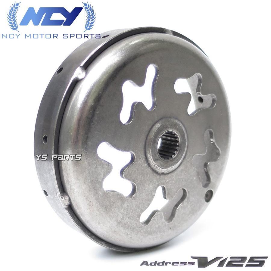 【復刻】NCY軽量レーシング軽量強化クラッチ+軽量クラッチアウターSET アドレスV125G(K5/K6/K7/K9,CF46A/CF4EA)アドレスV125S(L0,CF4MA)|ys-parts-jp|07