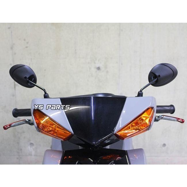 ショートミラー10正Ver2アドレスV125(K7-)アドレス125[DT11A]スカイウェイブ250/スカイウェイブ400/ジクサー/GSR400/GSR250F/GSR250/B-KING|ys-parts-jp|09