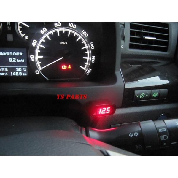【超小型】LEDボルトメーター赤モンキーゴリラダックスシャリージャイロアップジャイロキャノピージャイロXライブディオZXスーパーディオZXエイプ100等に ys-parts-jp 06
