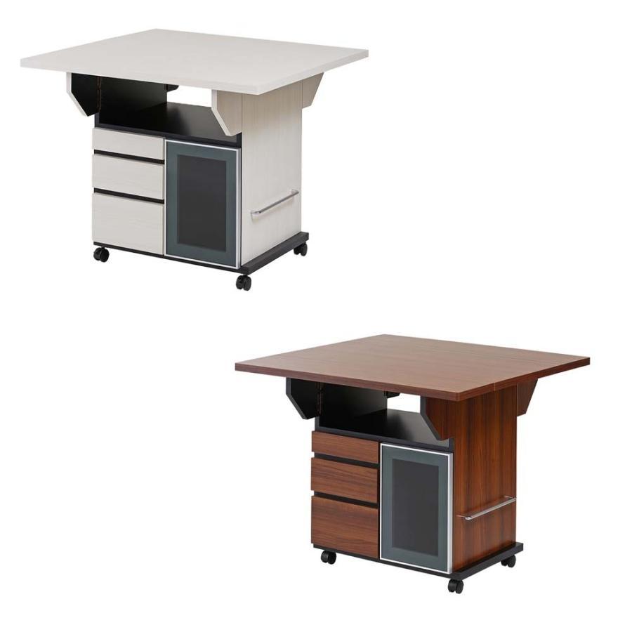 バタフライカウンターテーブル 幅89.5cm カウンターテーブル テーブル バタフライテーブル 伸長テーブル 伸長式テーブル 伸縮テーブル 送料無料