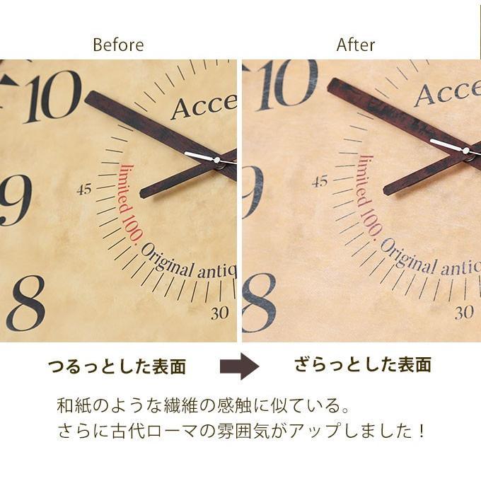 限定100個のアンティーク調 掛け時計 巨大時計 60cm 掛時計 大きいサイズ おしゃれ 壁掛け時計 レトロ 子供部屋 大型時計 見やすい リビング カフェ 送料無料|ys-prism|03