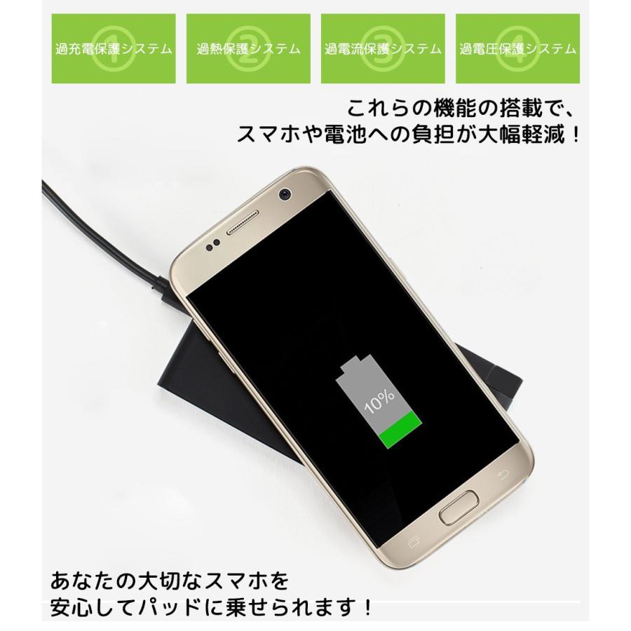 変型するワイヤレス充電器 スタンド機能 折りたたみ式 QC2.0 3.0対応 急速充電 搭載 iPhone 8 Plus iPhone X Note8 Galaxy 対応 ポイント消化 ysmya 14