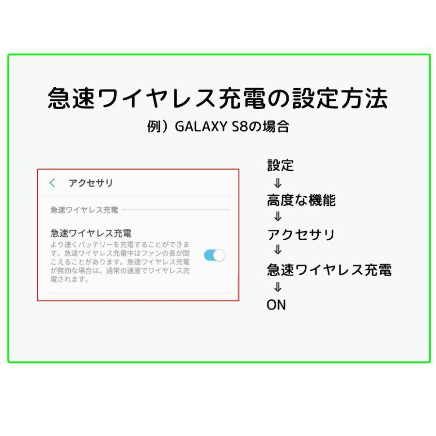 変型するワイヤレス充電器 スタンド機能 折りたたみ式 QC2.0 3.0対応 急速充電 搭載 iPhone 8 Plus iPhone X Note8 Galaxy 対応 ポイント消化 ysmya 18