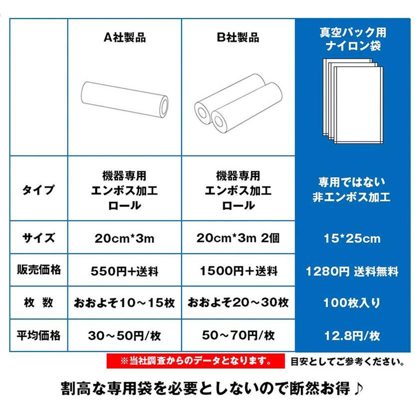 真空パック機 真空パック器 強吸引力 -80Kpa 専用袋不要 家庭用 業務用 真空パック機 本体 ポイント消化|ysmya|06