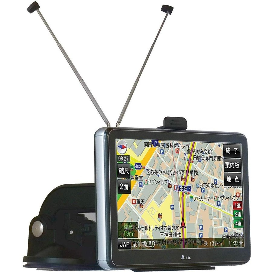 SPIRIX 7インチ ポータブルナビ GPS 3電源  2019年 最新地図データー対応 地図更新無料 オービス|ysy|02