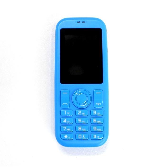 スマホ子機 Bluetooth接続 mini R phone 2 FMラジオ 音楽 動画 再生 多機能 接続マーク取得済 ライトブルー ysy 02