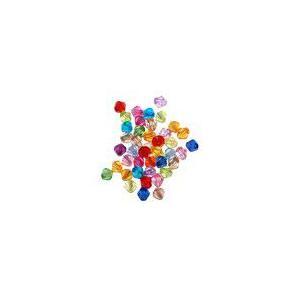 アクリルビーズ ソロバンカット カラーミックス 4mm(100g/4360ヶ)|yu-beads-parts