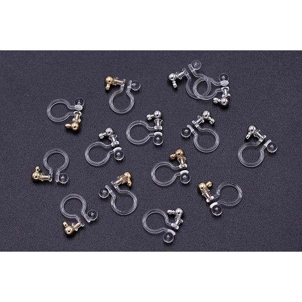 最安値挑戦中!ノンホールピアス 樹脂カン付【20ヶ】|yu-beads-parts|03