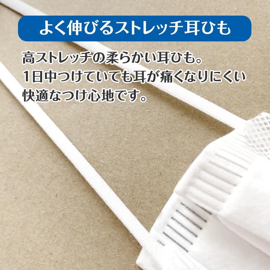 マスク 50枚入り 安い 即納 在庫あり 細菌・花粉・ダスト99%カット  3段プリーツ 不織布マスク yu-kiex 07