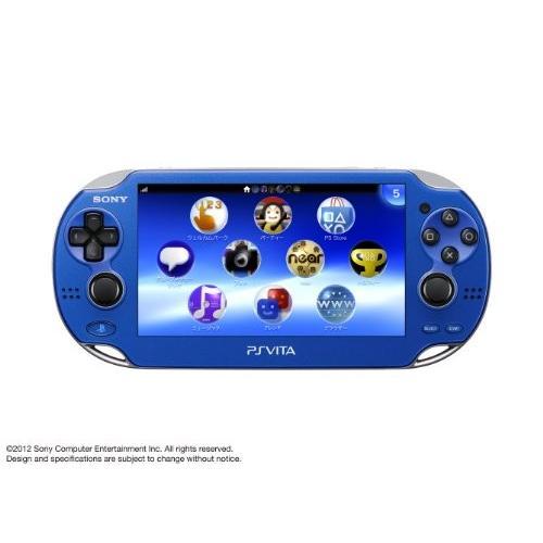 PlayStationVita Wi-Fiモデル サファイアブルー (PCH-1000 ZA04) メーカー生産終了