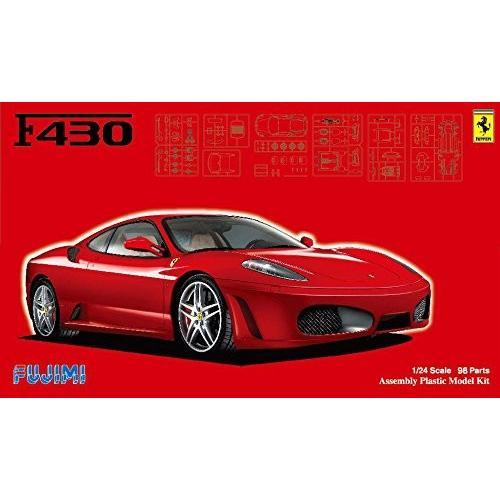 フジミ模型 1/24 リアルスポーツカーシリーズNo.109フェラーリ F430