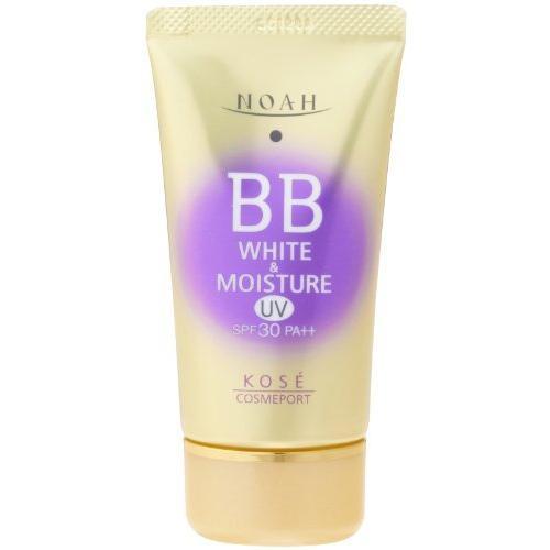 KOSE コーセー ノア ホワイト&モイスチュア BBクリーム UV02 SPF30 (50g)|yua-ray