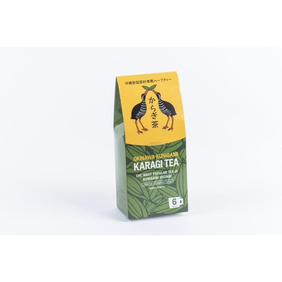 からぎ茶(ティーパック)6P シナモン味 リラックス効果 血糖値を下げる沖縄の健康茶!|yuiyui-k