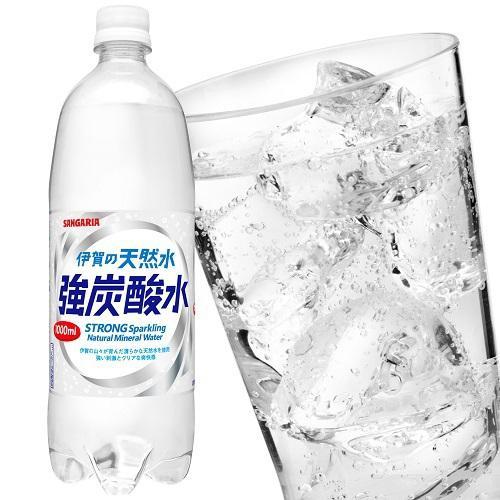 伊賀の天然水強炭酸水 500ml×24本 サンガリア SANGARIA(天然水 炭酸水)|yukawa-netshop|02