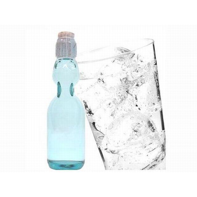 瓶ラムネ 200ml×30本 ハタ鉱泉(ラムネ 炭酸飲料 ソフトドリンク)|yukawa-netshop