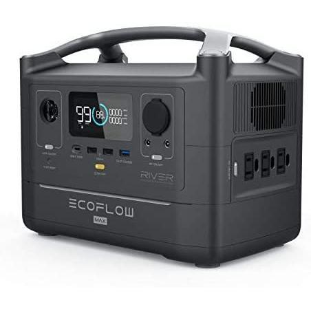 ECOFLOW(エコフロー) ポータブル電源 RIVER Max 576Wh 出力600W(ピーク1200W) yukinkoshop