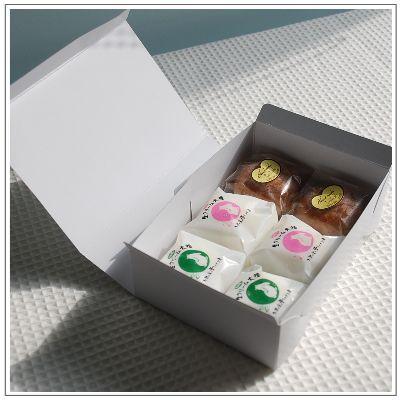 生クリーム大福:うさぎのしっぽ 抹茶・いちご・ショコラミックス(2個ずつ計6個入)|yukiusagi|05