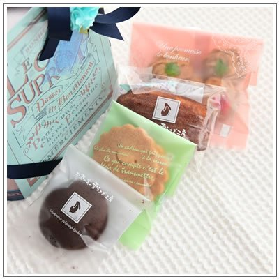 バレンタインのお返しに:ホワイトデーのクッキー・焼菓子詰合せ「アンティークブック S」 918円|yukiusagi|04