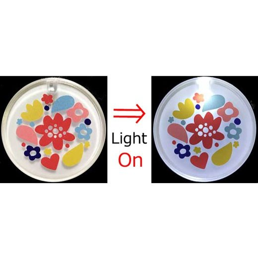 LED無地バッジ10個セット|yume-ribbon|06