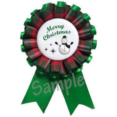 クリスマスロゼット用フリル【2m】 yume-ribbon 02