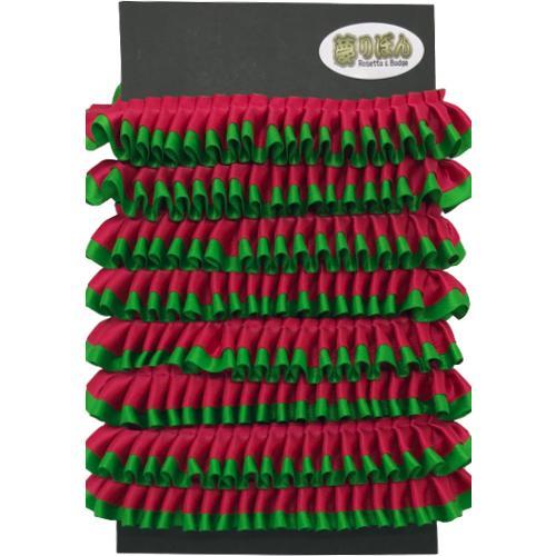 クリスマスロゼット用フリル【2m】 yume-ribbon 08