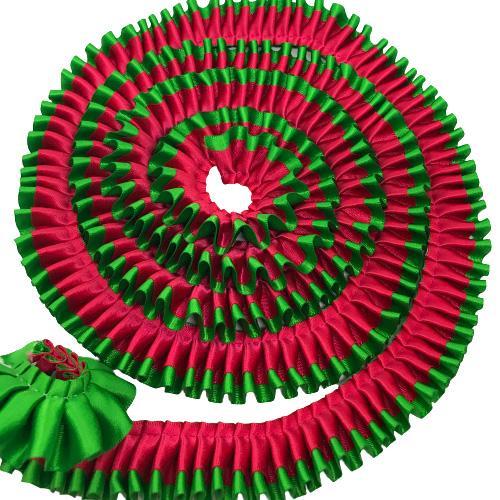 クリスマスロゼット用フリル【2m】 yume-ribbon 10