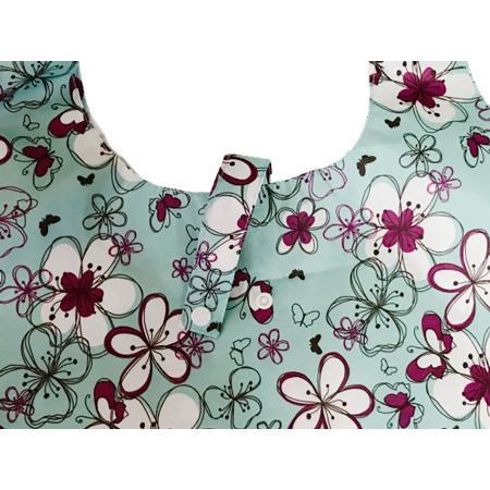 マチ付きMサイズのエコバッグ お買い物や普段使いにも便利 軽量で折りたたみ可能|yume-ribbon|04