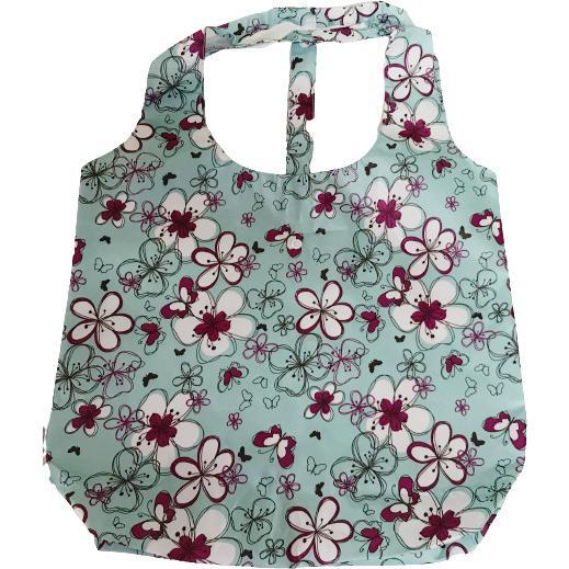 マチ付きMサイズのエコバッグ お買い物や普段使いにも便利 軽量で折りたたみ可能|yume-ribbon|05